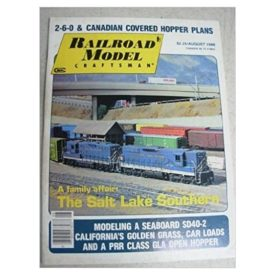 Railroad Model Craftsman (August 1986) - Vol 55 No. 3 (Collectible Single Back Issue Magazine)