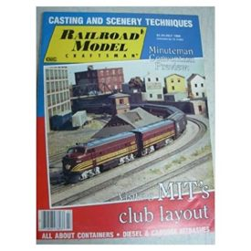 Railroad Model Craftsman (July 1986) - Vol 55 No. 2 (Collectible Single Back Issue Magazine)