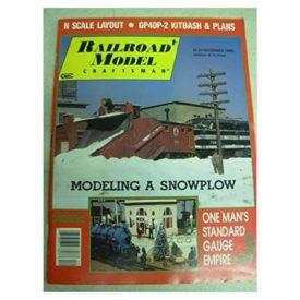 Railroad Model Craftsman Magazine, December 1986 - Vol 55 No. 7 (Collectible Single Back Issue Magazine)