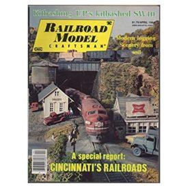 Railroad Model Craftsman (April 1984)  - Vol 52 No. 11 (Collectible Single Back Issue Magazine)