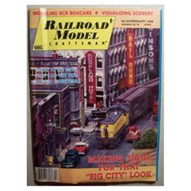 Railroad Model Craftsman [ February 1988 ] - Vol 56 No. 9 (Collectible Single Back Issue Magazine)