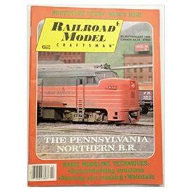 Railroad Model Craftsman February 1990 - Vol 58 No. 9 (Collectible Single Back Issue Magazine)