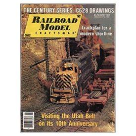 Railroad Model Craftsman Magazine, June 1984 - Vol 53 No. 1 (Collectible Single Back Issue Magazine)