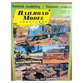 Railroad Model Craftsman Magazine, July 1984 - Vol 53 No. 2 (Collectible Single Back Issue Magazine)