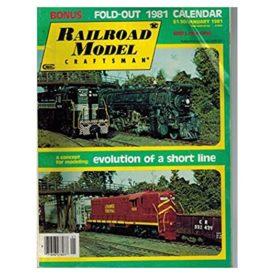 Railroad Model Craftsman Magazine, January 1981 - Vol 49 No. 8 (Collectible Single Back Issue Magazine)
