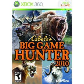 Cabela's Big Game Hunter (XBOX 360)