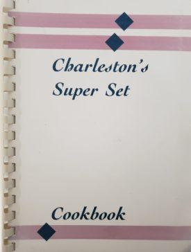 Vintage 1980 Boatmen's National Bank Charleston's Super Set Cookbook Charleston, Illinois (Plastic-comb Paperback)