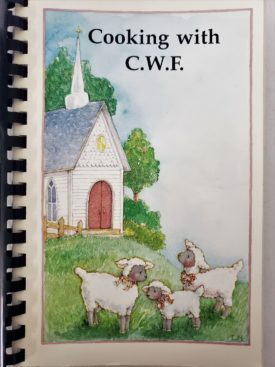 Vintage 1996 Davis Memorial Christian Church Taylorville, Illinois Cooking with CWF Cookbook (Plastic-comb Paperback)