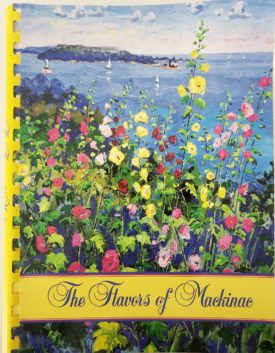 Vintage 1997 The Flavors of Mackinac Cookbook Mackinaw Island, Michigan (Plastic-comb Paperback)
