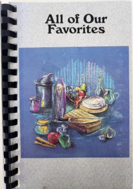 All of Our Favorites - Flora High School Band Booster Cookbook (Plastic-comb Paperback)
