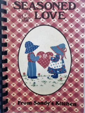 Vintage 1993 Seasoned With Love from Sandy's Kitchen Cookbook Wabash County, Indiana (Plastic-comb Paperback)