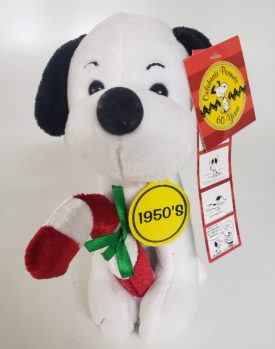 "DanDee Snoopy Plush 1950's Peanuts Celebrate 60 Years 8"""