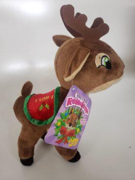 "SugarLoaf Toys Santa's Reindeer Plush Toy Medium 12"" - Comet"