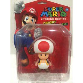 "Nintendo 5"" Classic Super Mario Action Figure Collection TOAD Collectible #349"