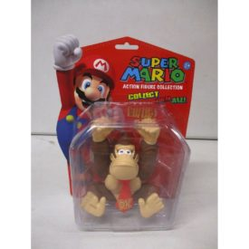 "Nintendo 5"" Classic Super Mario Figurine Collection DONKEY KONG Collectible #348"