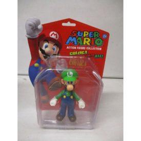 "Nintendo 5"" Classic Super Mario Brothers Action Figure LUIGI Collectible #346"