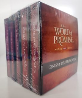 The Word of Promise Audio Bible: New King James Version Audio CD – Unabridged, October 13, 2009 (Audiobook CD)