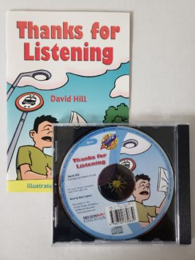 Thanks for Listening - Audio Story CD w/ Companion Book