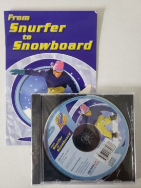 From Surfer to Snowboard - Audio Story CD w/ Companion Book