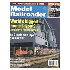 Model Railroader (April 1999)  - Vol 66 No. 4 (Collectible Single Back Issue Magazine)