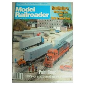 Model Railroader (July 1982) - Vol 49 No. 7 (Collectible Single Back Issue Magazine)