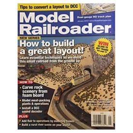 Model Railroader - January 2010 - Vol 77 No. 1 (Collectible Single Back Issue Magazine)