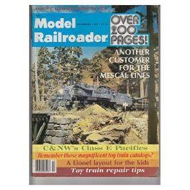 Model Railroader Magazine, December 1978, - Vol 45 No. 12 (Collectible Single Back Issue Magazine)