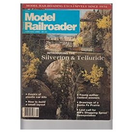 Model Railroader (January 1986) - Vol 53 No. 1 (Collectible Single Back Issue Magazine)