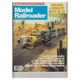 MODEL RAILROADER JULY 1987 - Vol 54 No. 7 (Collectible Single Back Issue Magazine)