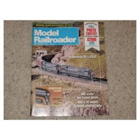 Model Railroader (September 1987) - Vol 54 No. 9 (Collectible Single Back Issue Magazine)