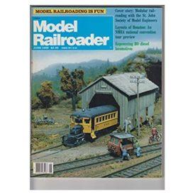 Model Railroader [ June 1989 ] - Vol 56 No. 6 (Collectible Single Back Issue Magazine)