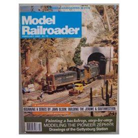 Model Railroader [ February 1982 ] - Vol 49 No. 2 (Collectible Single Back Issue Magazine)