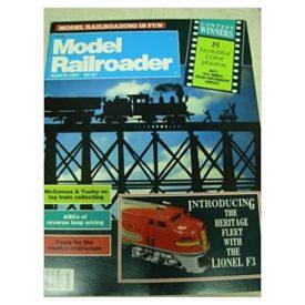 Model Railroader (March 1987) - Vol 54 No. 3 (Collectible Single Back Issue Magazine)