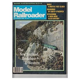 Model Railroader (September 1983)  - Vol 50 No. 9 (Collectible Single Back Issue Magazine)