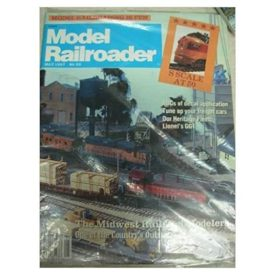 Model Railroader (May 1987) - Vol 54 No. 5 (Collectible Single Back Issue Magazine)