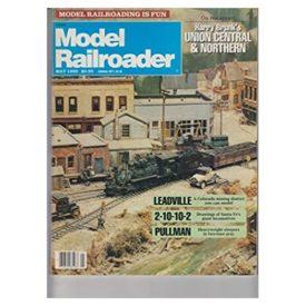 Model Railroader (May 1989) - Vol 56 No. 5 (Collectible Single Back Issue Magazine)