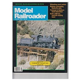 Model Railroader (August 1987) - Vol 54 No. 8 (Collectible Single Back Issue Magazine)