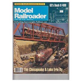 Model Railroader [ April 1989 ] - Vol 56 No. 4 (Collectible Single Back Issue Magazine)