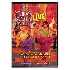 Yoga Booty Ballet Live: Cardio Cabaret, Burlesque Style! (DVD)