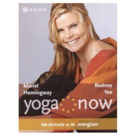 Yoga Now: 10-minute A.M. Energizer & 10-minute P.M. De-stressor (DVD)