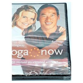 Yoga Now Mariel Hemingway and Rodney Yee 50 Minute Accelerated workout (DVD)