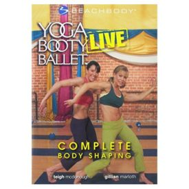 Yoga Booty Ballet Live: Complete Body Shaping! (Beach Body) (DVD)