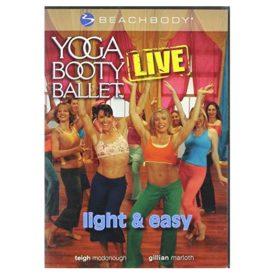 Yoga Booty Ballet Live Light & Easy! BeachBody (DVD)