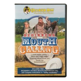 Quaker Boy Beginner's Mouth Calling with Call (DVD)