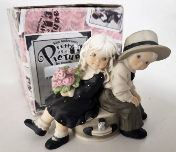 """Kim Anderson's Pretty As A Picture """"Just You & Me Always"""" Figurine"""
