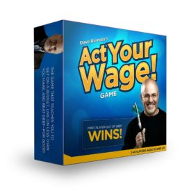 Dave Ramsey's ACT Your Wage! Board Game - Get Out of Debt - For Ages 10+