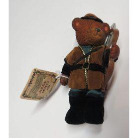 "Russ Teddy Town 5"" Resin Robin Hood Bear"