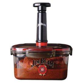 Jim Bean Vacuum Seal Quick Marinade Box