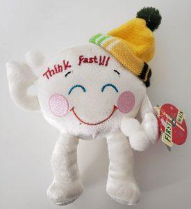 "First & Main ""Think Fast"" Snowball Plush 8"" XS9103"