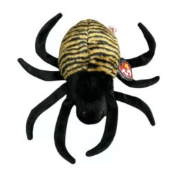 Ty Beanie Buddy - SPINNER The Spider Plush